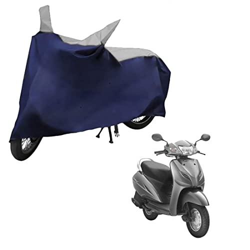 Mototrance Sporty Bike Body Cover For Honda Activa 3G,Blue