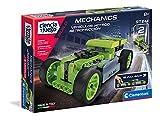 Clementoni-55345 - Mechanics - Vehículos Hotrod Retrofricción - juego de construcciones mecánica a partir de 8 años