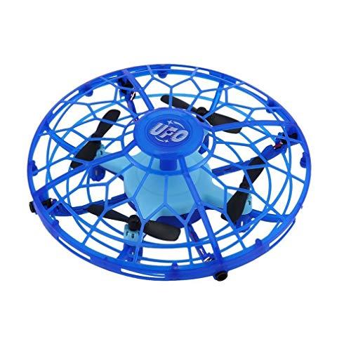 Mini RC Drone met sensoren 2.4G 4CH Quadcopter Gyro Bal van de vlieg ( Color : Deep Blue )