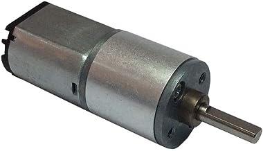 30rpm-1000RPM 20mm largo del eje N20 motor del engranaje miniatura DC 6V de deceleraci/ón del motor para cerraduras electr/ónicas Robots Regard
