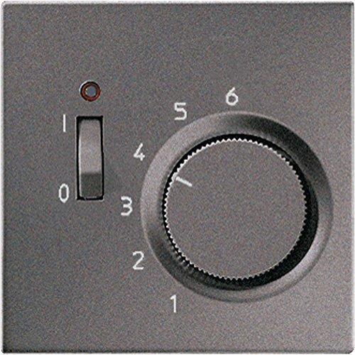 Jung altr231plan–Taste für Mechanismus Thermostat tr231u anthrazit