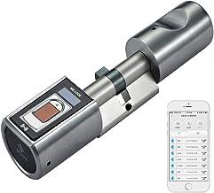 WE.LOCK L6SBR Elektronischerdeur-sluitsysteem, biometrische deuropener, vingerafdruk en afstandsbediening, slot, Bluetooth...