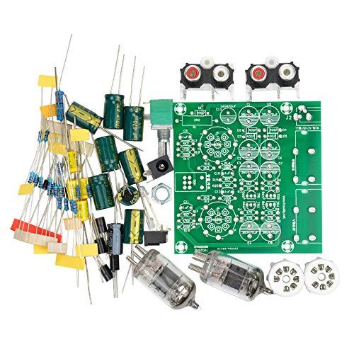 TOOGOO Amplificadores De Tubo Amplificador De Placa De Audio Preamplificador Mezclador De Audio Kit DIY De Búfer De Bilis Preamplificador De Válvula 6J1