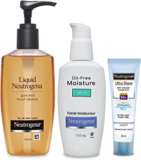 Neutrogena Dry Skin Care Kit (Combo Of 3)