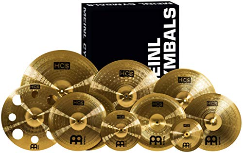 3. Meinl Cymbals Cymbal Variety Package Ultimate
