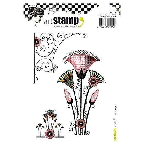 Carabelle Studio Cling, Art Deco, voor papier ambachtelijke stempelen projecten, kaarten maken en Scrapbooks, Multi-Colored, One Size