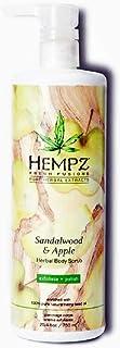 Hempz Sandalwood & Apple Scrub 25.4oz NEW SIZE w/Scrub