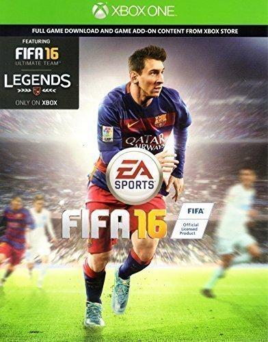 FIFA 16 (Xbox One) SPIEL DIGITAL DOWNLOAD KARTE MIT FIFA LEGENDS