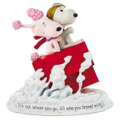Hallmark Paj1166 Snoopy Flying Ace and Fifi Figurine