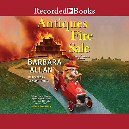Antiques Fire Sale audiobook cover art