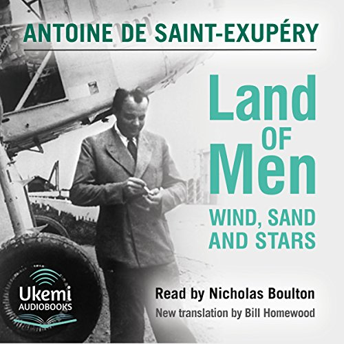 Land of Men audiobook cover art