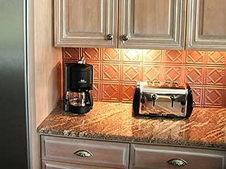 Mirroflex Backsplash Tile Charleston Brushed Copper