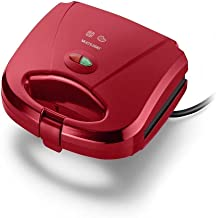 Sanduicheira e Mini Grill Multilaser Gourmet 220V 750W Vermelha - CE149