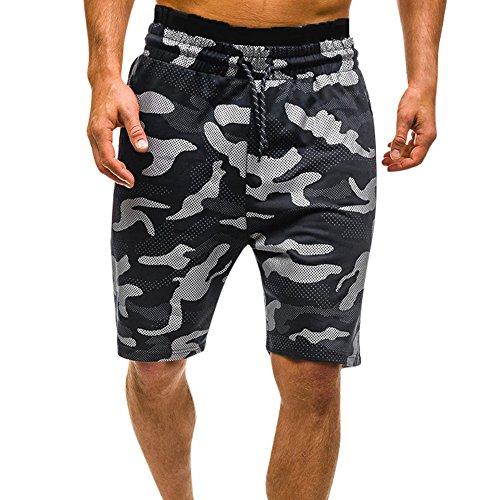 Amcool Neu Herren Shorts Kurze Hose Herren Cargo Shorts Short Herren Sweatshort Sportshorts Freizeit Laufen Lässige Camouflage