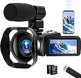 Video Camera 4K Camcorder UHD...