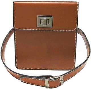 Women's Leisure Waist Pack, Large Capacity Lightweight Fashion Waist Bag Multifunction Shoulder Messenger Bag Chest Bag Waist Bag Travel, Shopping (Size:15cm*6cm*18cm) (Color : Brown)