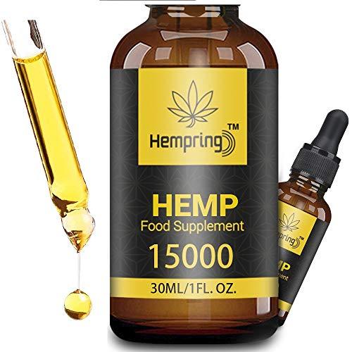 Prämie Öl Tropfen - Natürliches Öl, Vegan   Hohe Festigkeit, Große Flasche Hochdosiert (50%/30ML)