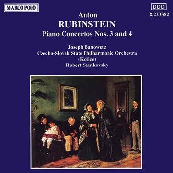 RUBINSTEIN: Piano Concertos Nos. 3 and 4