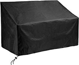 Patio Sofa Cover, Waterproof Lounge Deep Seat Cover Loveseat Cover (2 Seat) for Outdoor Furniture Covers 52.75x25.98x35.03...