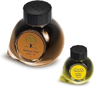 Colorverse Ink - Earth Edition - Árbol ginkgo (65 ml) y hojas doradas (15 ml)