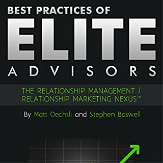 Best Practices of Elite Advisors audiobook cover art