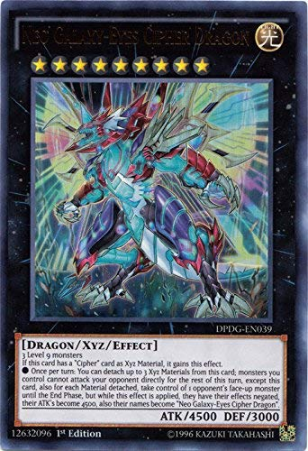 Yu-Gi-Oh! - Neo Galaxy-Eyes Cipher Dragon - DPDG-EN039 - Ultra Rare - 1st Edition - Duelist Pack: Dimensional Guardians