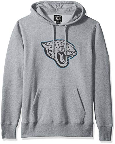 OTS NFL Herren Fleece Hoodie, Herren, Bravo Fleece Hoodie Distressed, Distressed Iced, Medium
