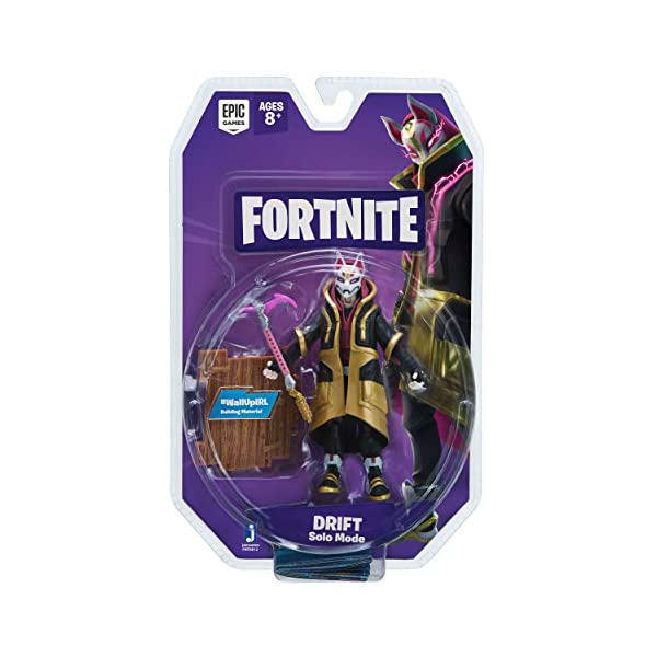 Jazwares- Fortnite Figura Solo Mode Deriva (Drift), Multicolor (FNT0012) , color/modelo surtido 6