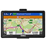 OHREX GPS Navigation for Truck RV Car (7 inch), with Bluetooth Hands-Free Calls, GPS for Truck Drivers Commercial, Trucker GPS Navigation System, Free Lifetime Map Updates