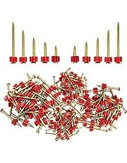 220 STKS Metselwerk Nagels Set, Anti-Corrosie Nagels, Cement Nail, Hardware Nail voor DIY en Home Maintenance, 5 Size