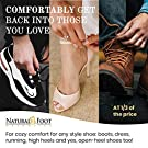 Natural Foot Orthotics Inserts for Plantar Fasciitis, Support Shoe Insert, Feet/Heel/Back/Joint Pain Relief, Walk, Run, Fit Shoes/Boots/Heels Insoles Good for Med to High Arches , Made in The USA #3
