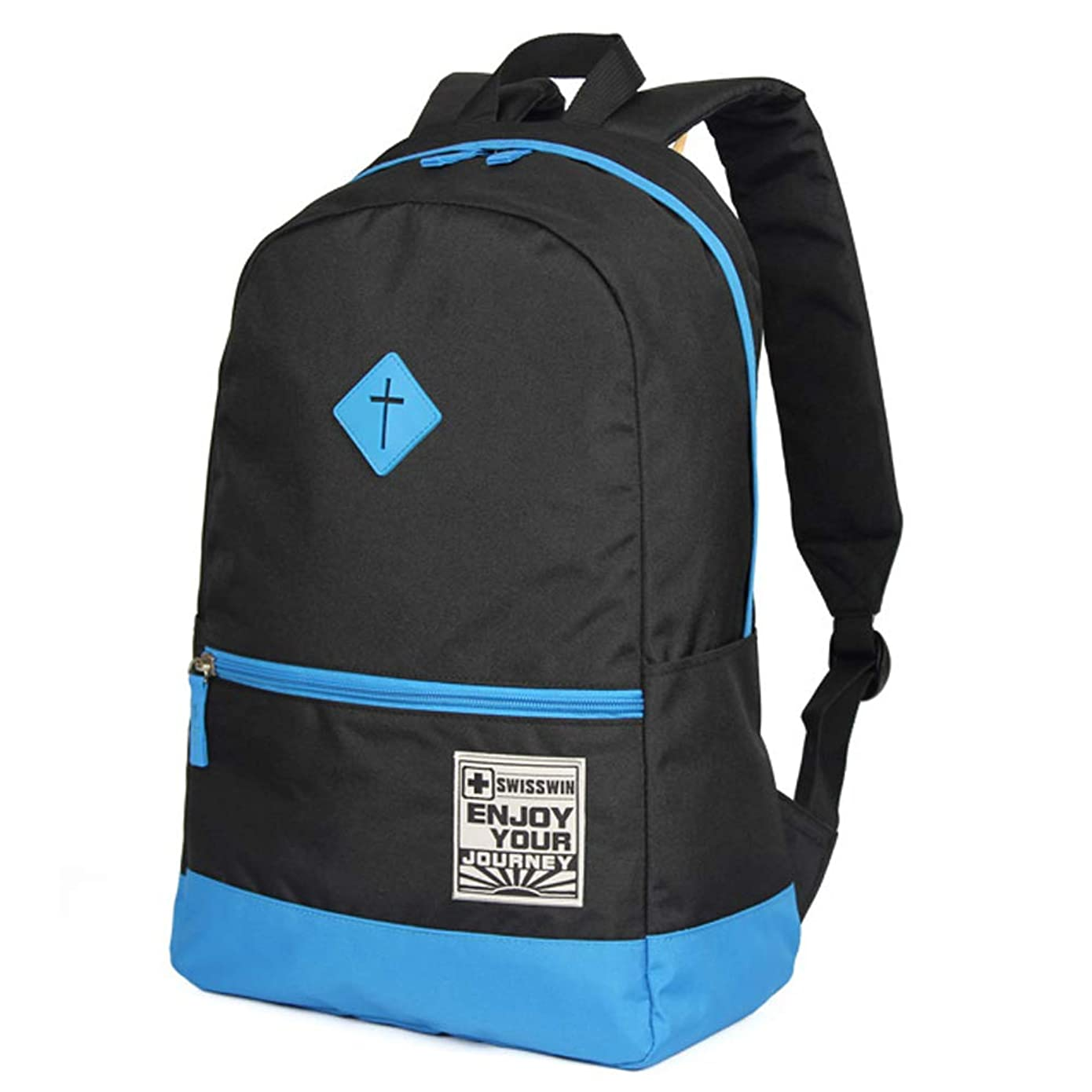 顕現オークションコークスSWISSWIN バッグパック メンズ レディース 通学 カジュアル 撥水 軽量 3色 SWK2008