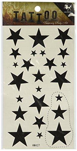 King Horseekörper peindre des tatouages temporaires BlackStar tatouage temporaire imperméable à l'eau