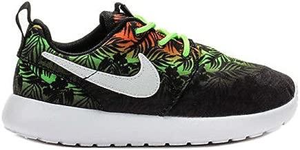 Nike Roshe Run Print Toddler's Running Shoes Sneakers (5 M US Toddler, Total Orange/Flash Lime/Black/White)