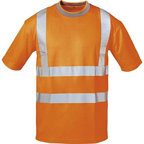 Feldtmann 101103247 Safestyle Warnschutz UV-T-Shirt 22712, Orange, S