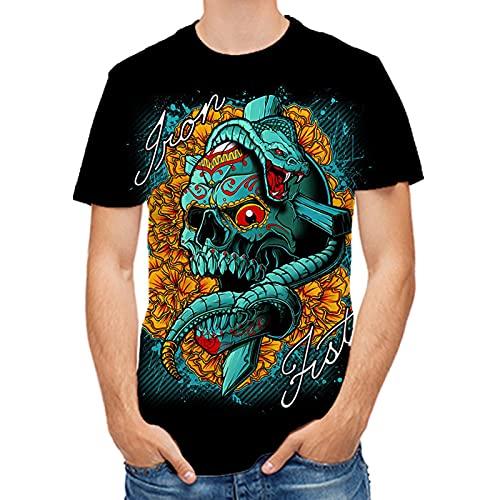 SSBZYES Camisetas De Verano para Hombre Camisetas De Gran Tamaño para Hombre Camisetas con Estampado De Moda Camisetas Básicas para Hombre Tops Casuales para Hombre Camisetas Pintadas