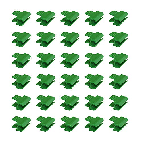 30 Pcs Greenhouse Pipe Clamp Shed Film Mesh Pole Clamp Plastic Shed Film Clip ,For Greenhouse Frame