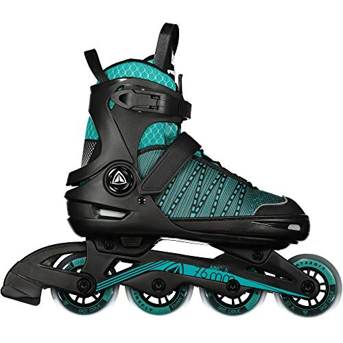 Firefly Unisex-Kinder Ils 610 G Skateboardschuhe, Schwarz (Black/Blue 900), 33 EU