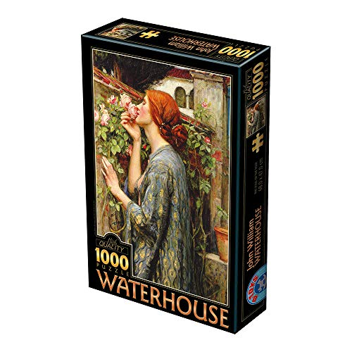 Unbekannt Puzzle 1000 Teile - Waterhouse John William: The Soul of The Rose