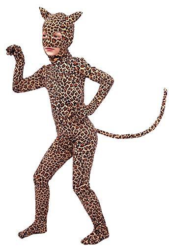 Gaoin Boys and Girls Spandex Pretty Leopard Costume Kids Animal...