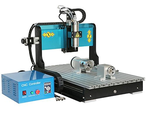 4 Axis CNC wood router 6040 2200w Spindle Water-cooling Metal Engraving Carving Machine