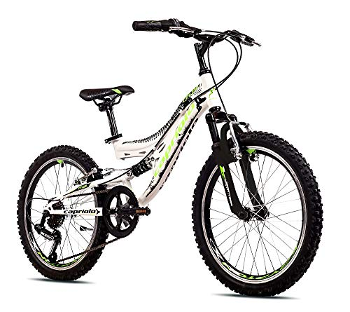 breluxx® 20 Zoll Mountainbike CTX200 weiß schwarz, 6 Gang Shimano, Modell 2020 - Made in EU