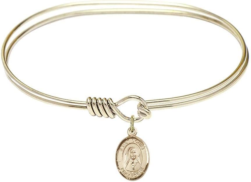 Bliss Max 65% OFF 7 inch Oval Eye Hook Boston Mall Bangle St. a Bracelet Louise de with