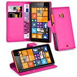 Cadorabo Hülle für Nokia Lumia 535 in Cherry PINK -