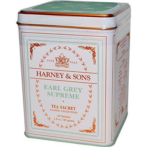 Harney & Sons, Earl Grey Supreme, 20 bolsitas, 1.4 oz (40 g) por Harney & Sons
