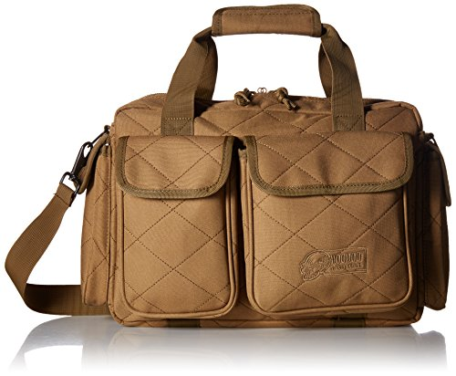 VooDoo Tactical 15-9650 Compact Scorpion Range Bag, Coyote Tan