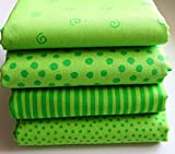 Westfalenstoffe * Junge Linie * Stoff Paket Grün * 4 Fat