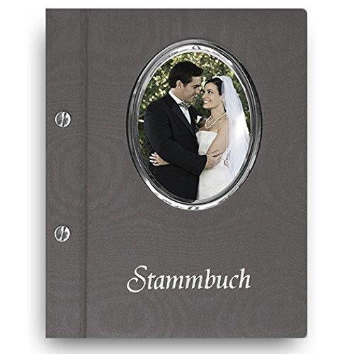 Stammbuch der Familie 'Frame' grau A5 Familienbuch Familienstammbuch Stammbaum Stammbücher Holzbuch...