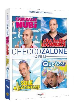 checco zalone 4 film collection (4 dvd) box set
