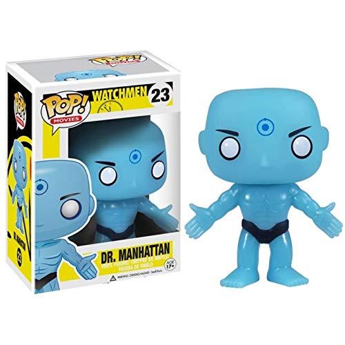 Lotoy Funko Pop Movies : Watchmen - Dr Manhattan Figure Gift Vinyl 3.75inch for Hero Movie Fans Model